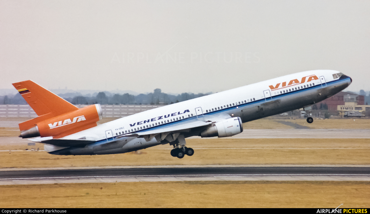 Viasa YV-135C aircraft at London - Heathrow
