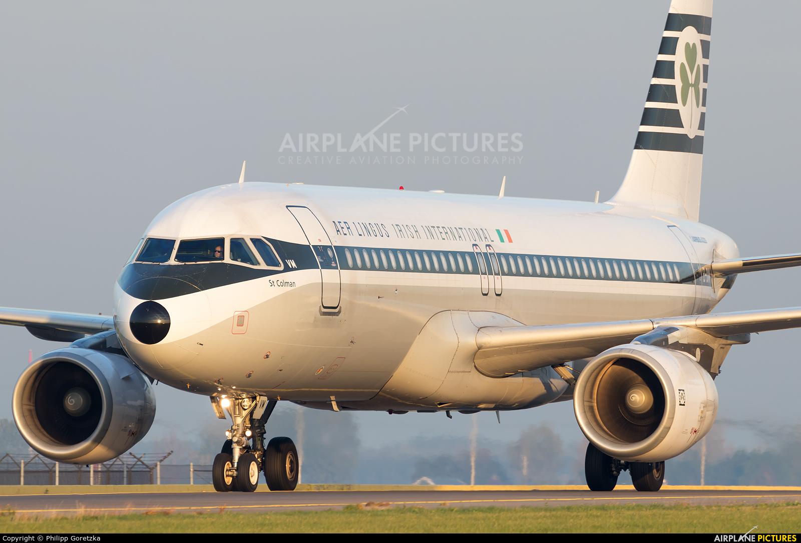 Aer Lingus EI-DVM aircraft at Amsterdam - Schiphol