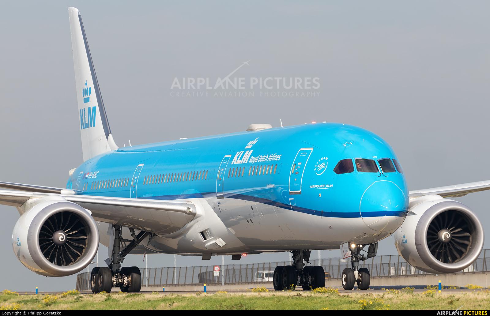 KLM PH-BHC aircraft at Amsterdam - Schiphol