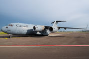 Canadian Air Force Boeing C-17 Globemaster visited Zurich title=