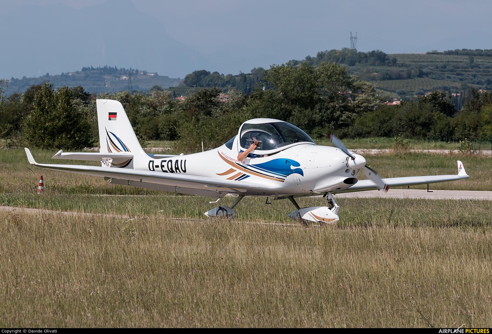 Private D-EQAU aircraft at Verona - Boscomantico