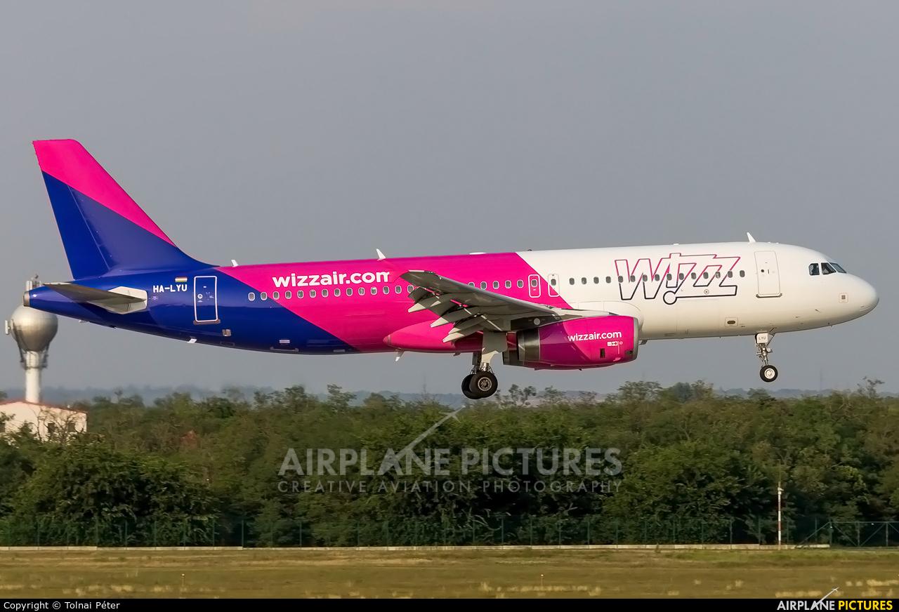 Wizz Air HA-LYU aircraft at Budapest Ferenc Liszt International Airport