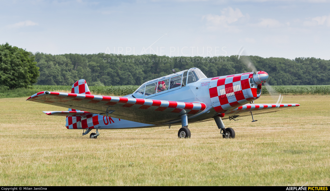 Východočeský aeroklub Pardubice OK-MPR aircraft at Trnava- Boleráz