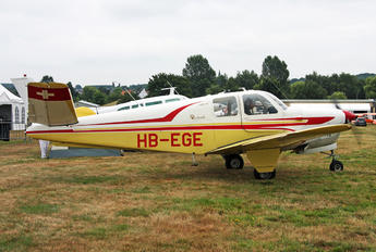 HB-EGE - Private Beechcraft 35 Bonanza V series