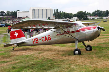 HB-CAB - Private Cessna 140
