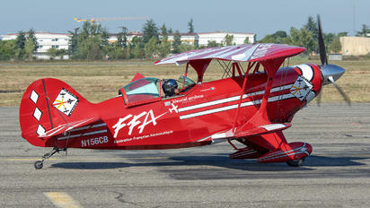 N156CB - Split Image Aerobatic Team Pitts S-2S Special