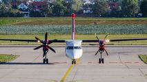 D-ABQS - LGW de Havilland Canada DHC-8-400Q / Bombardier Q400 aircraft