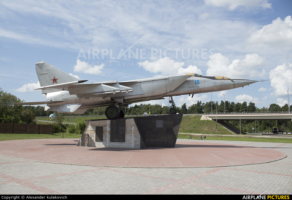 Belarus - Air Force 18 aircraft at Off Airport - Belarus