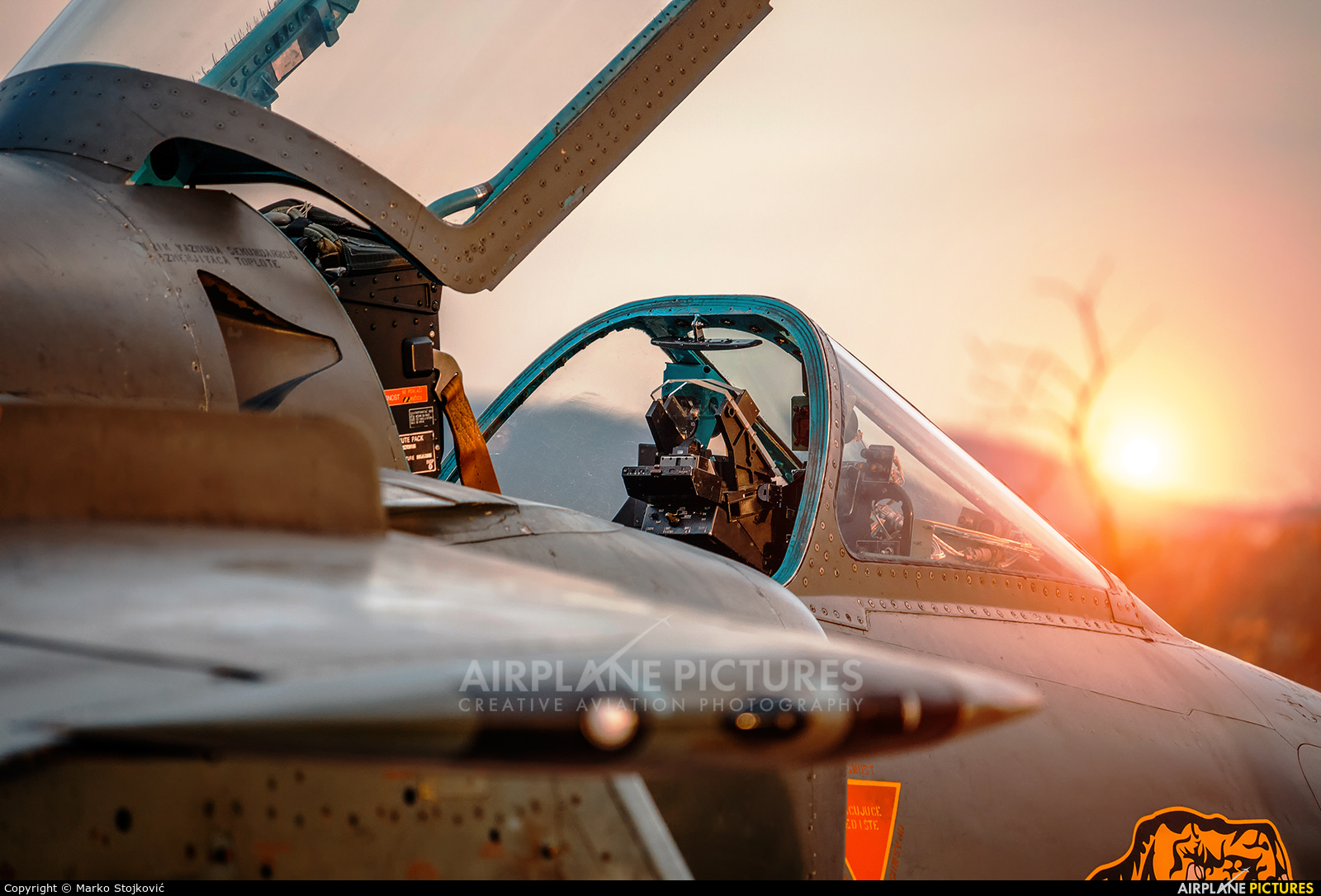 Serbia - Air Force 25154 aircraft at Nis - Konstantin Veliki