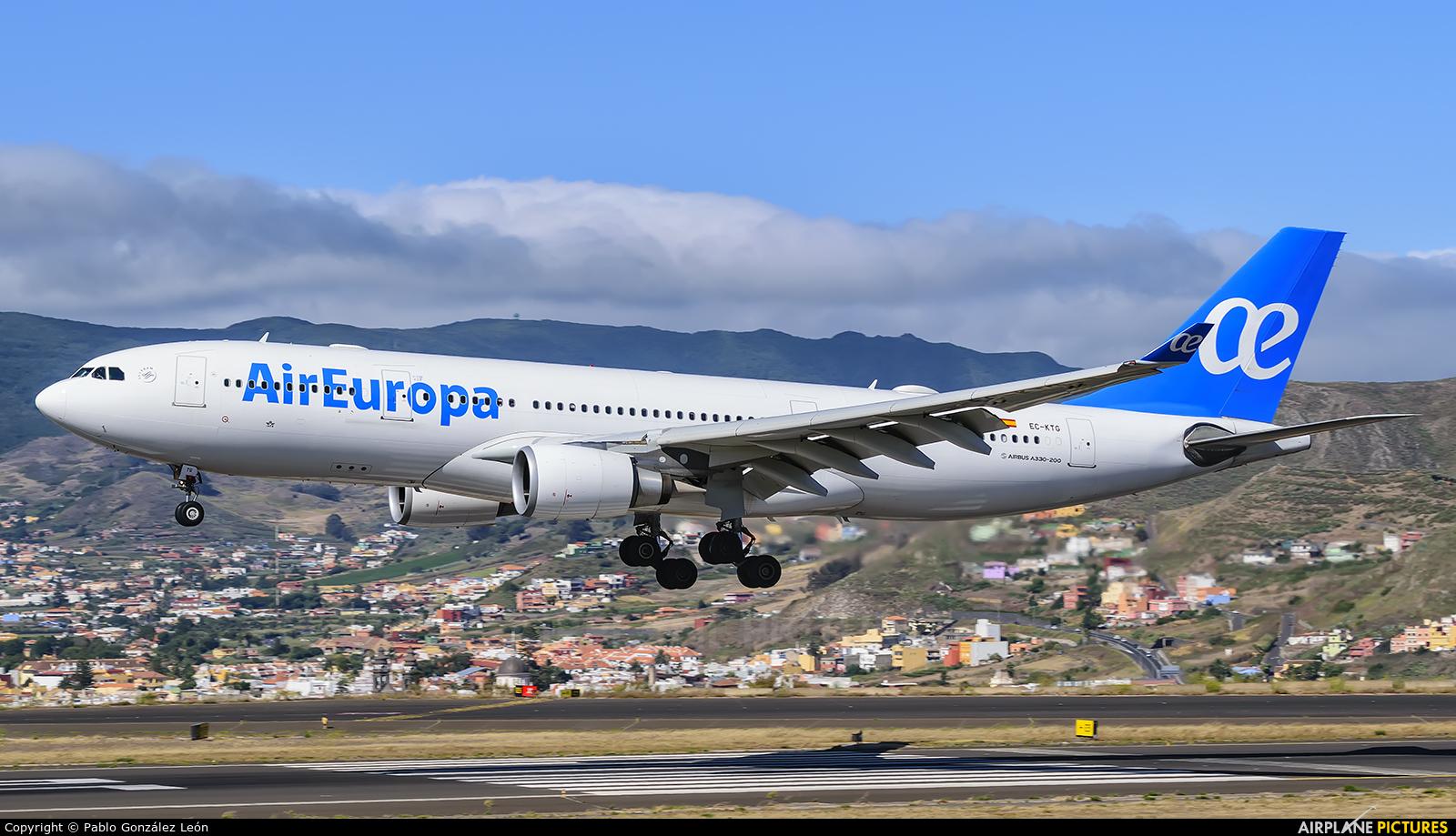 Air Europa EC-KTG aircraft at Tenerife Norte - Los Rodeos