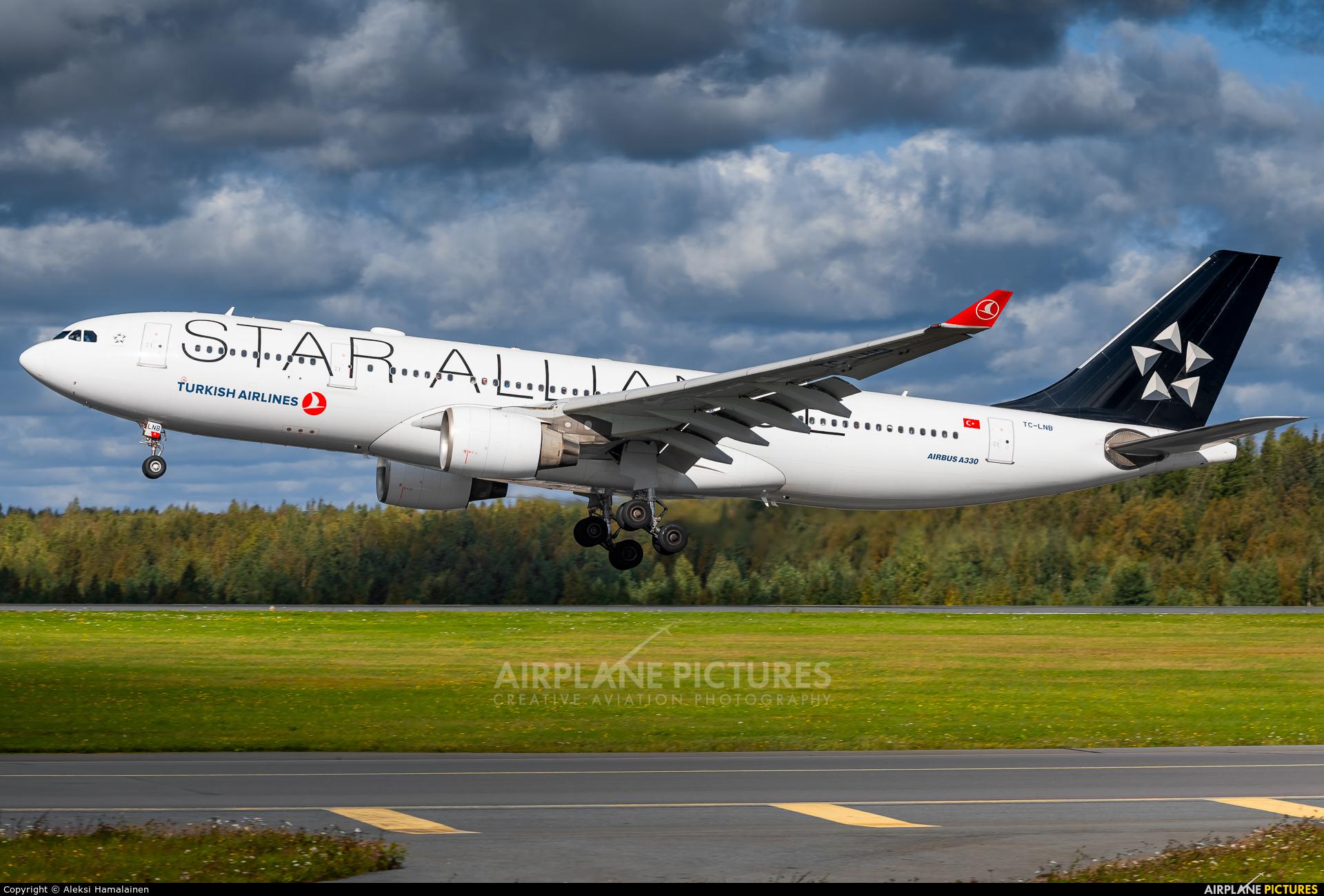 Turkish Airlines TC-LNB aircraft at Helsinki - Vantaa