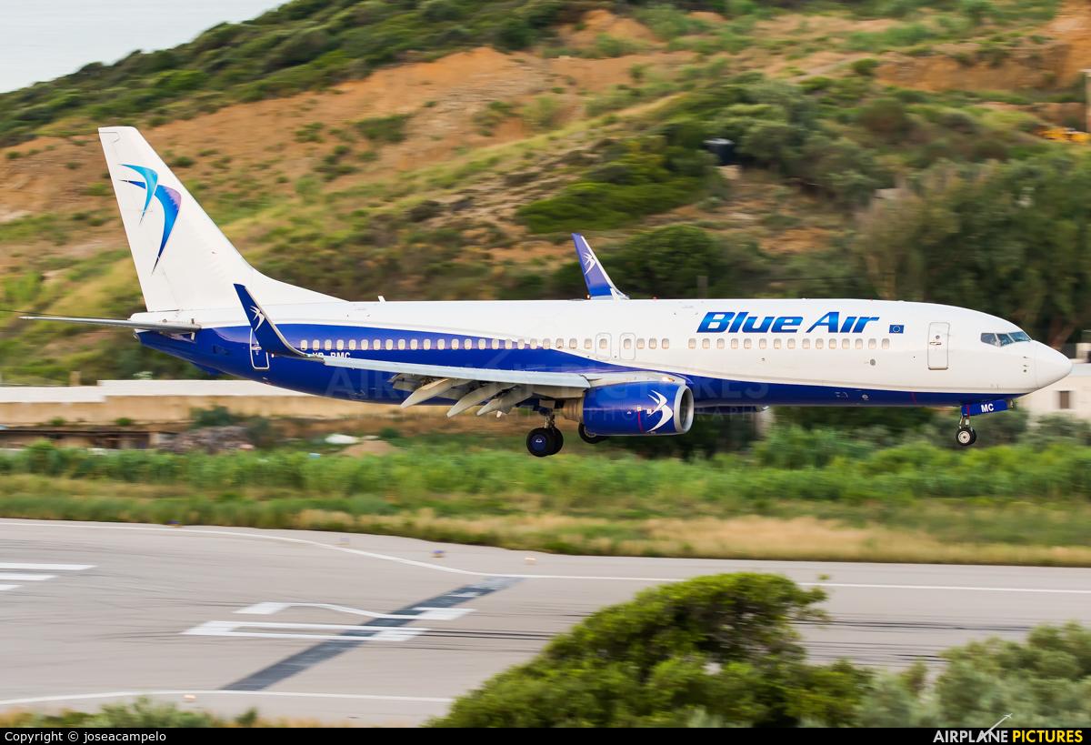 Blue Air YR-BMC aircraft at Skiathos