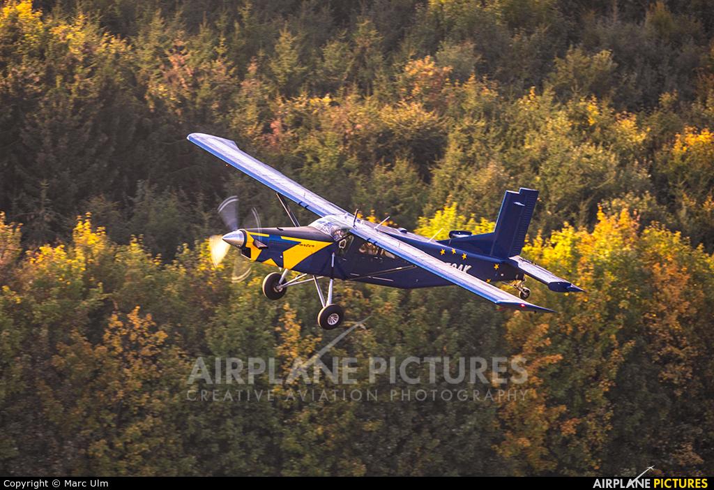 Skydive Colibri N752AK aircraft at Thalmässing-Waizenhofen
