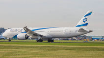 El Al Boeing 787-9 visited Amsterdam title=