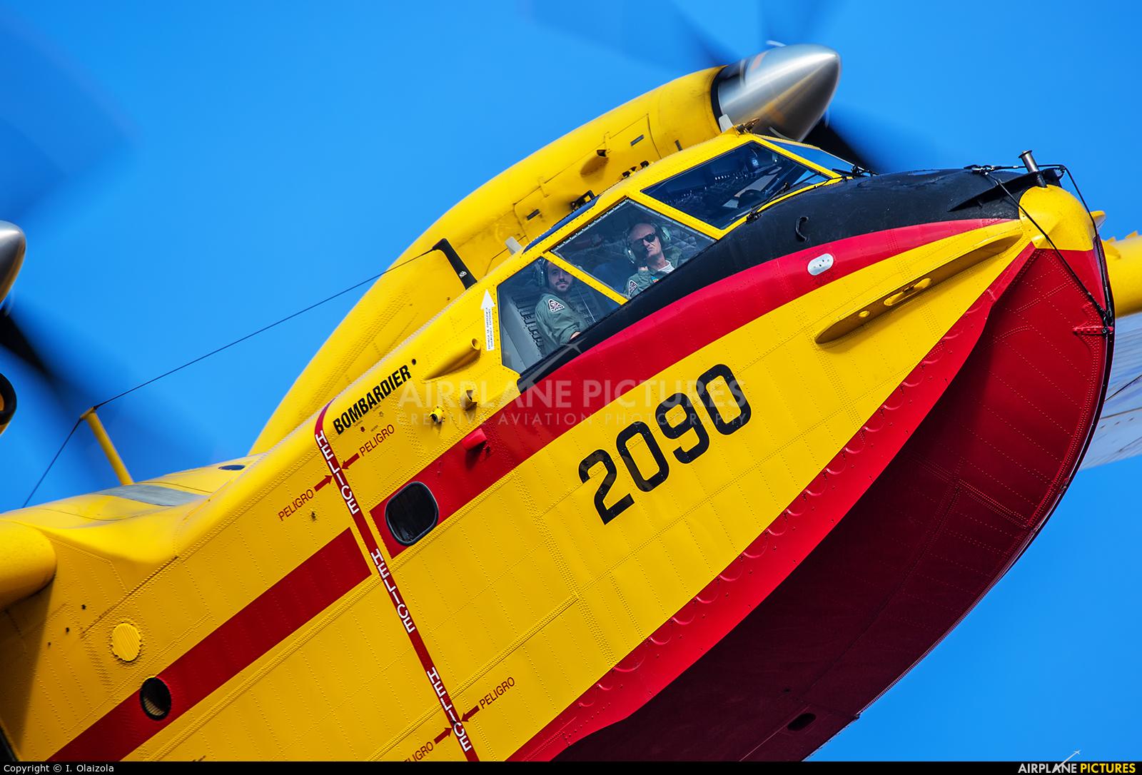Spain - Air Force UD.14-04 aircraft at Madrid - Torrejon