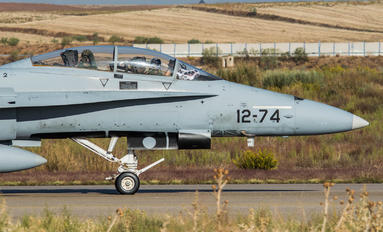 CE.15-11 - Spain - Air Force McDonnell Douglas EF-18B Hornet