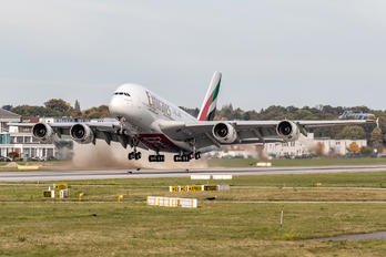 A6-EVE - Emirates Airlines Airbus A380