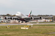 A6-EVE - Emirates Airlines Airbus A380 aircraft