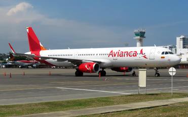 N810AV - Avianca Airbus A321