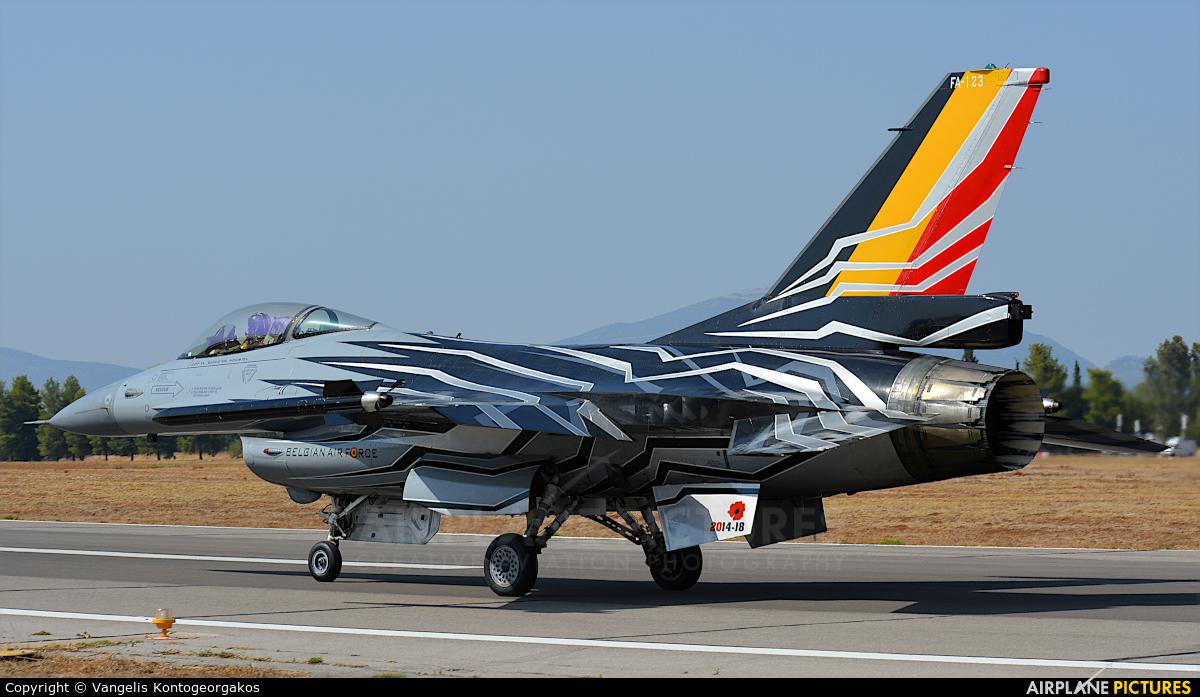 Belgium - Air Force FA-123 aircraft at Tanagra