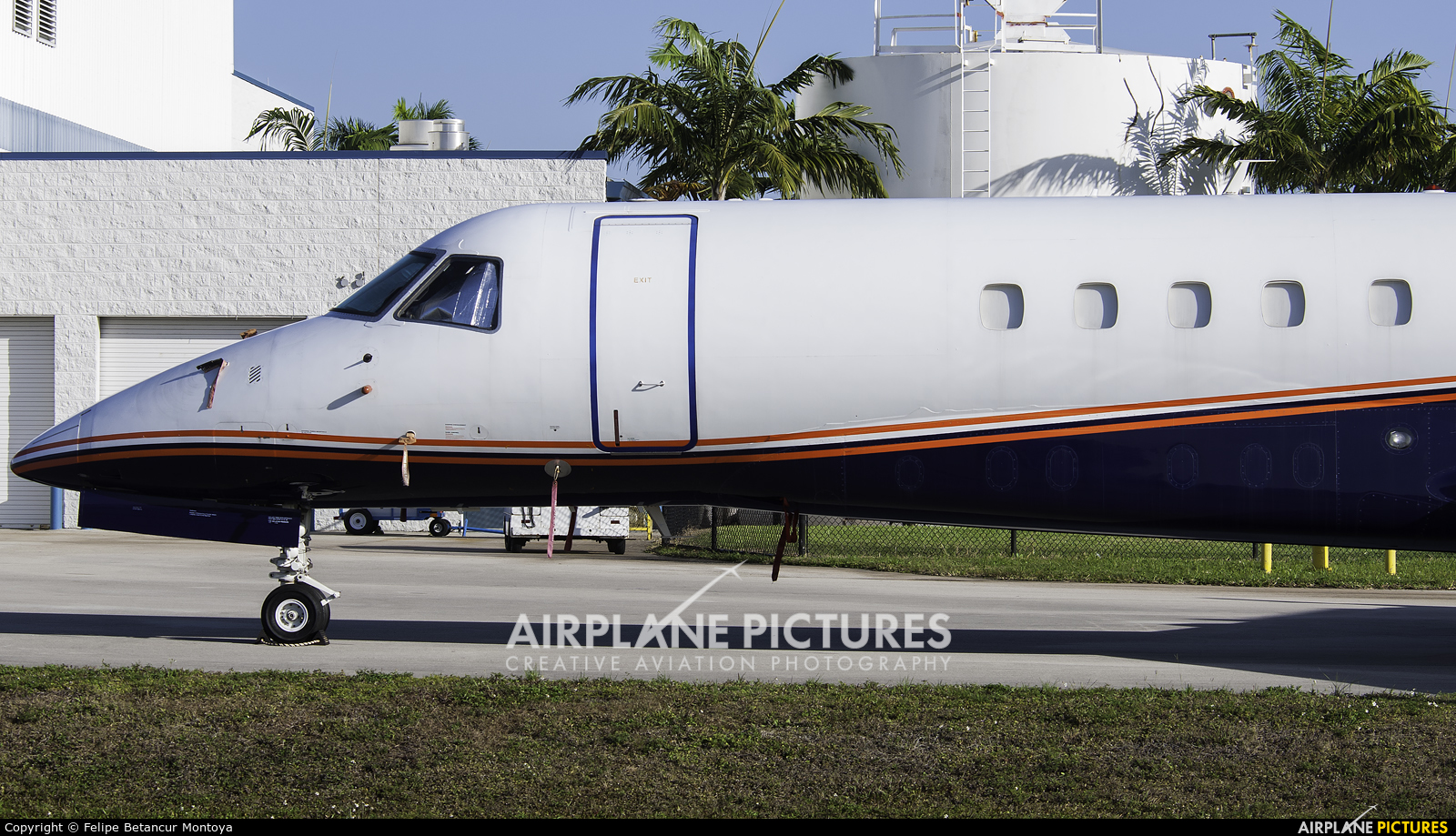 Private M-ARSL aircraft at Fort Lauderdale - Hollywood Intl