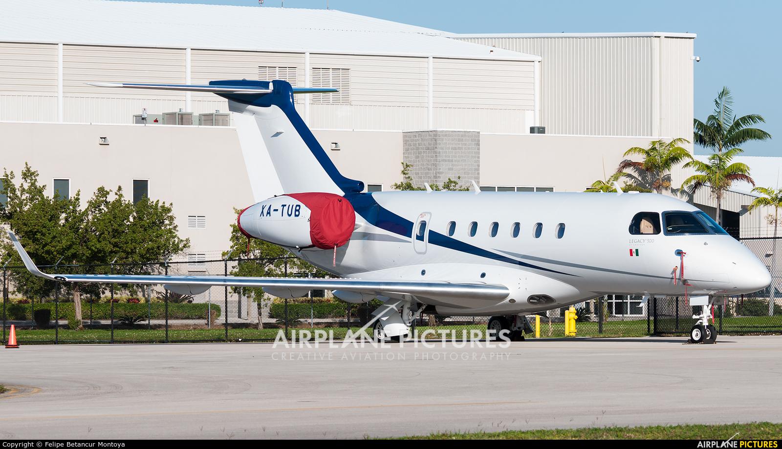 Private XA-TUB aircraft at Fort Lauderdale - Hollywood Intl