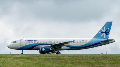 XA-ECO - Interjet Airbus A320
