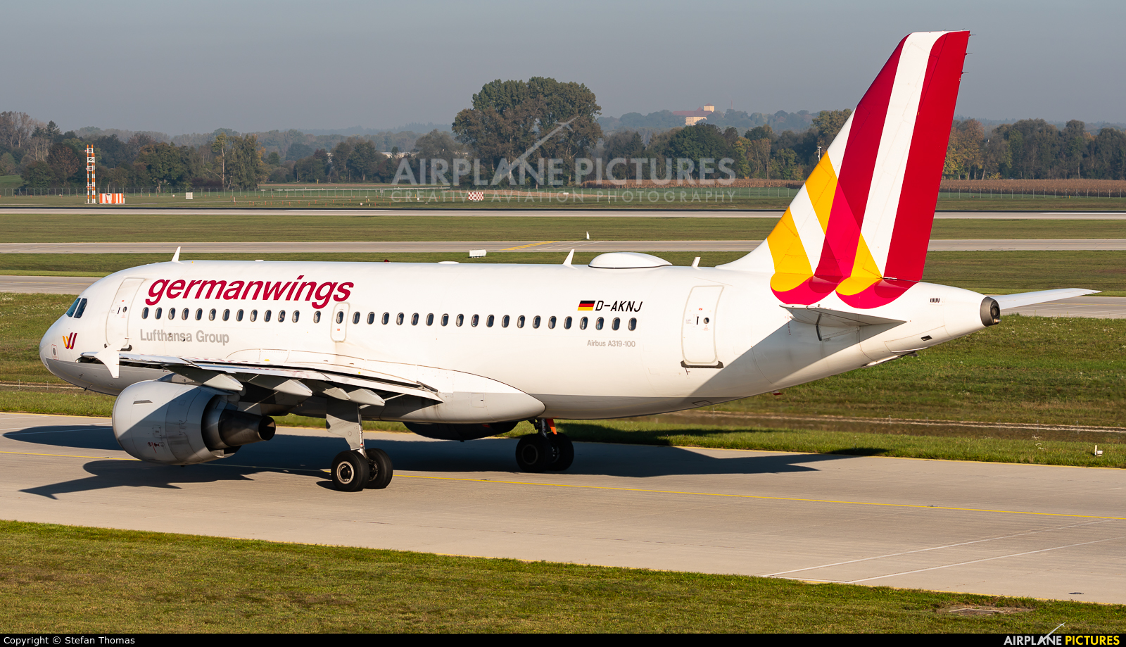 Germanwings D-AKNJ aircraft at Munich