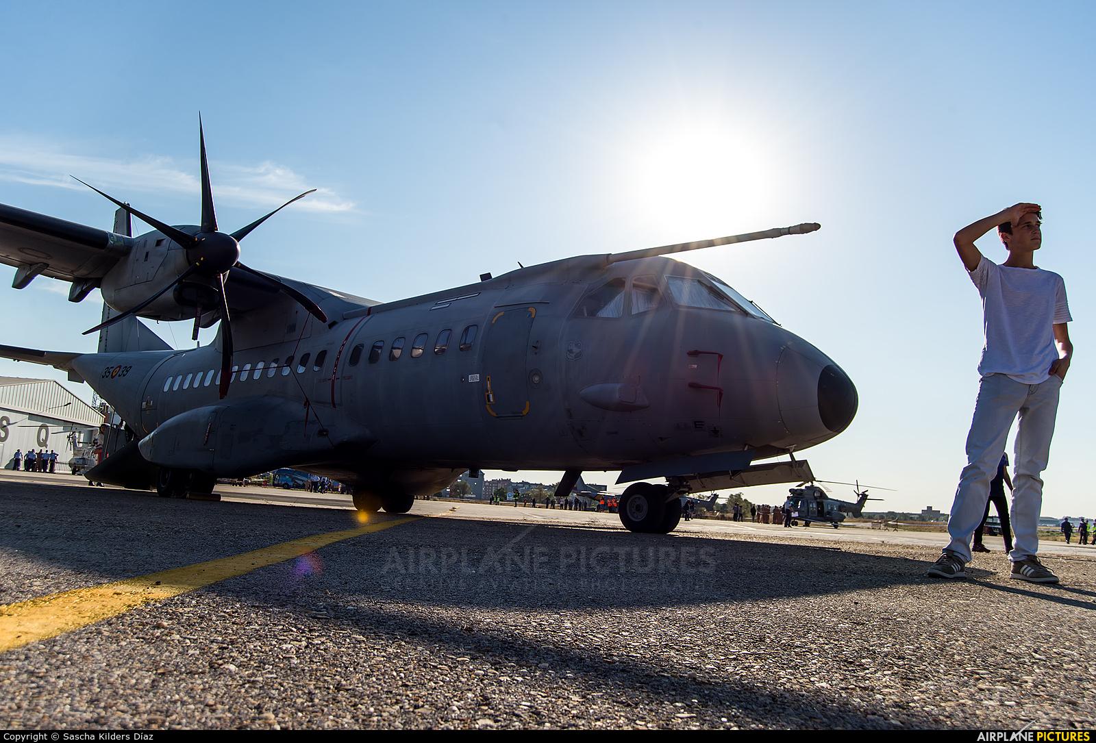 Spain - Air Force T.21-01 aircraft at Madrid - Cuatro Vientos
