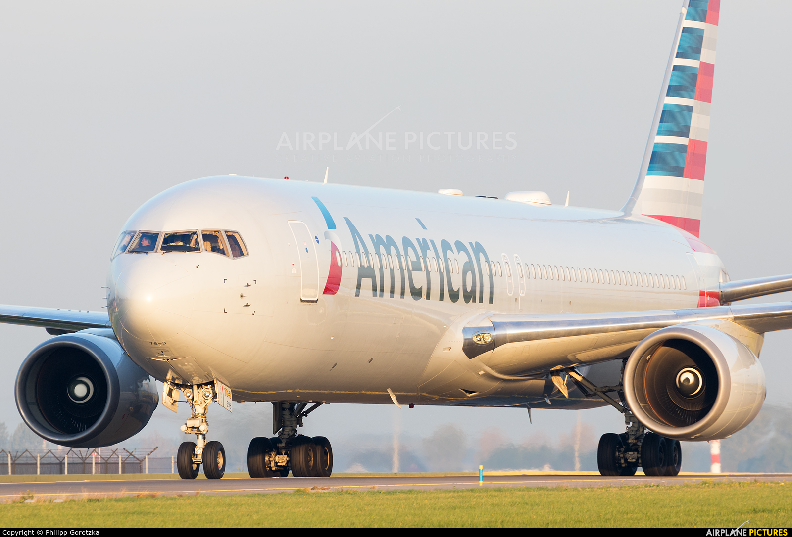 American Airlines N398AN aircraft at Amsterdam - Schiphol