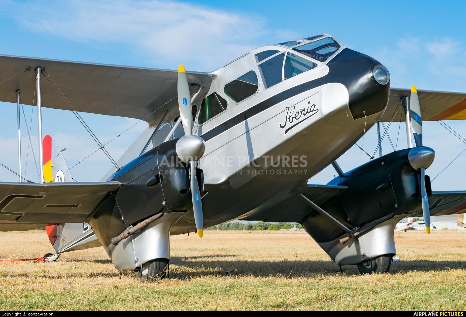 Fundación Infante de Orleans - FIO EC-AAY aircraft at Madrid - Cuatro Vientos