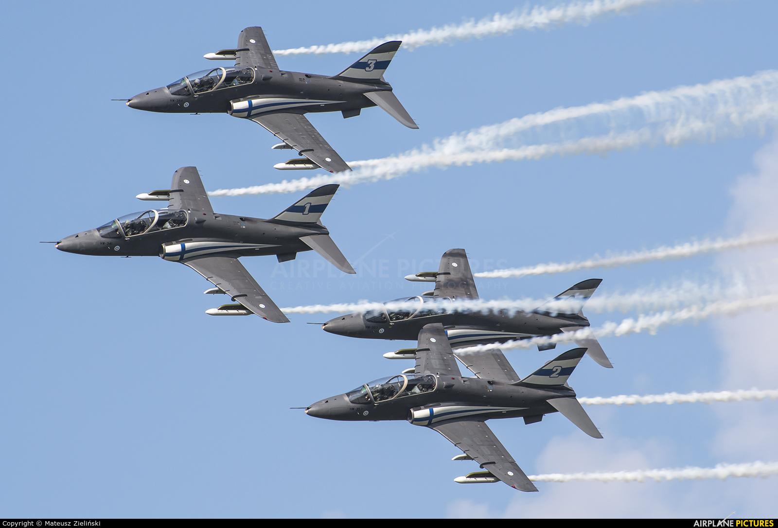 Finland - Air Force: Midnight Hawks HW-341 aircraft at Radom - Sadków