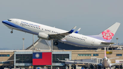 B-18655 - China Airlines Boeing 737-800