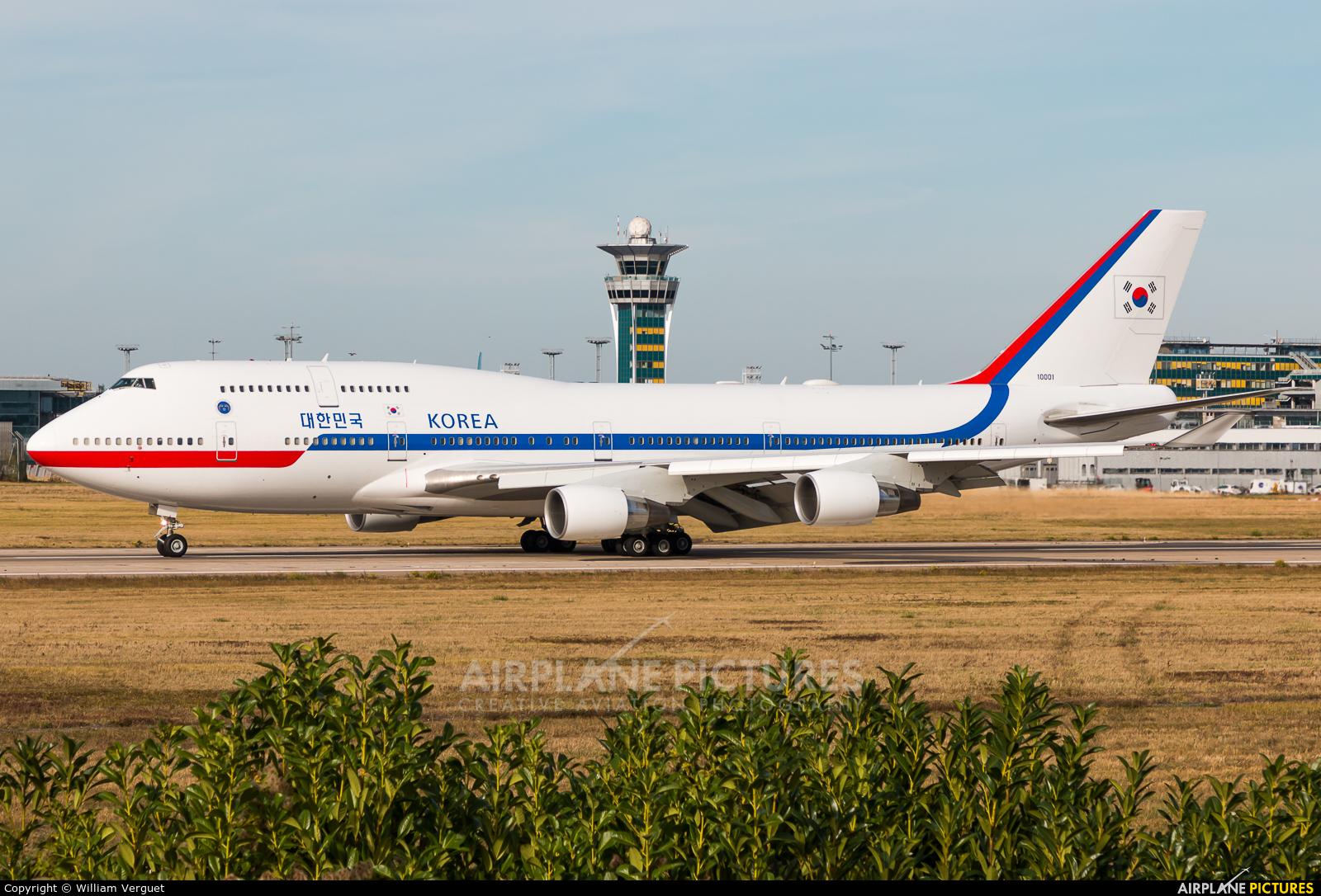 Korea (South) - Air Force 10001 aircraft at Paris - Orly