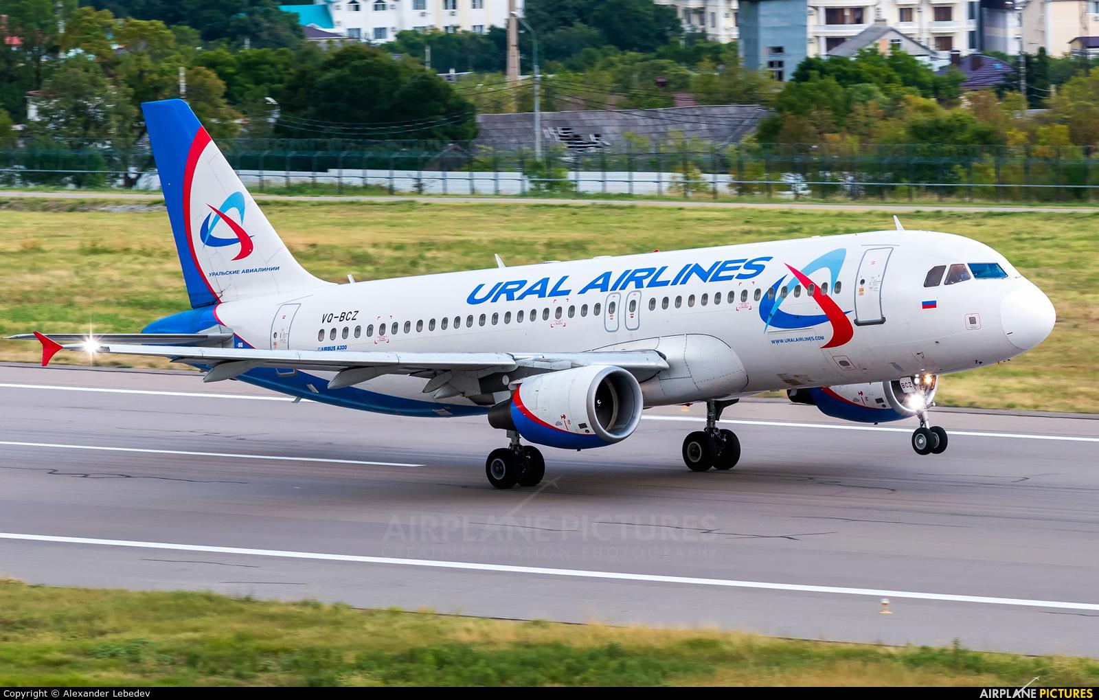 Ural Airlines VQ-BCZ aircraft at Gelendzhik