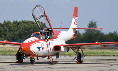 8 - Poland - Air Force: White & Red Iskras PZL TS-11 Iskra