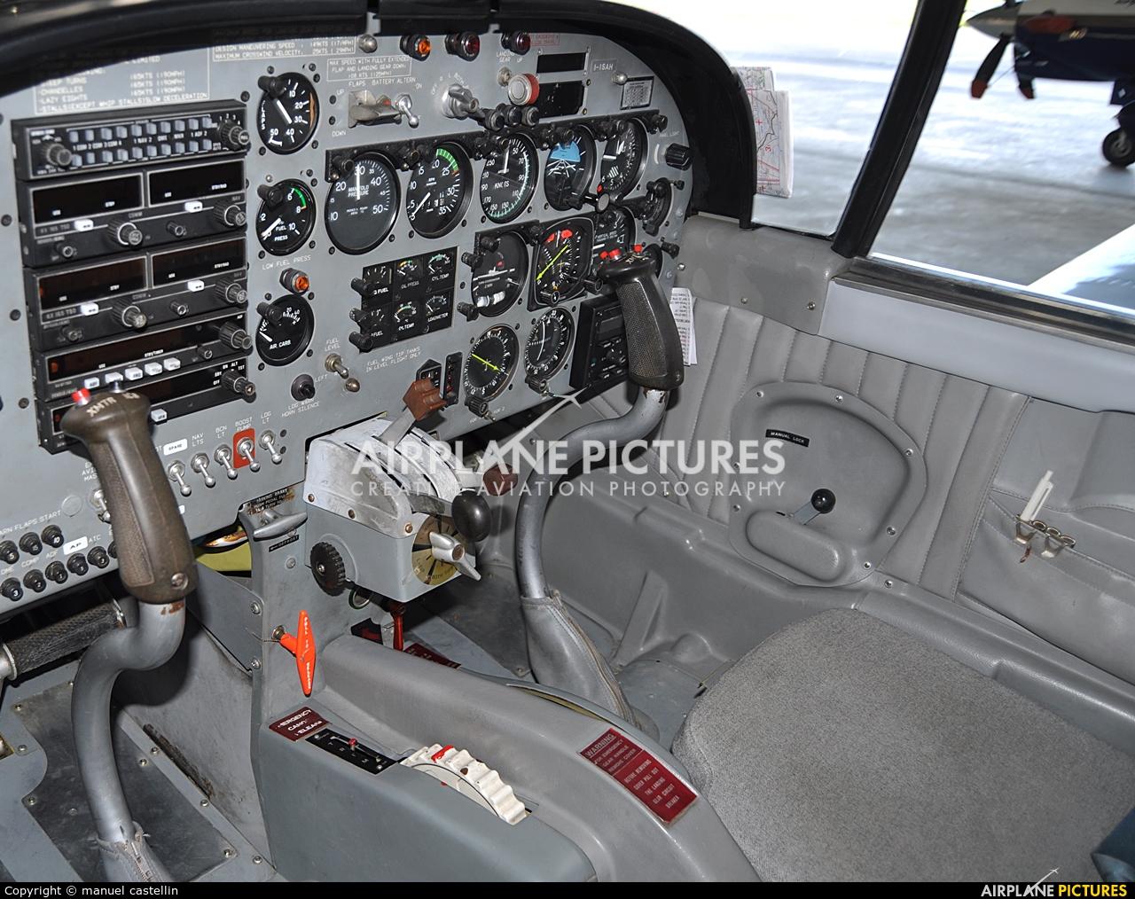 Private I-ISAH aircraft at Milan - Bresso