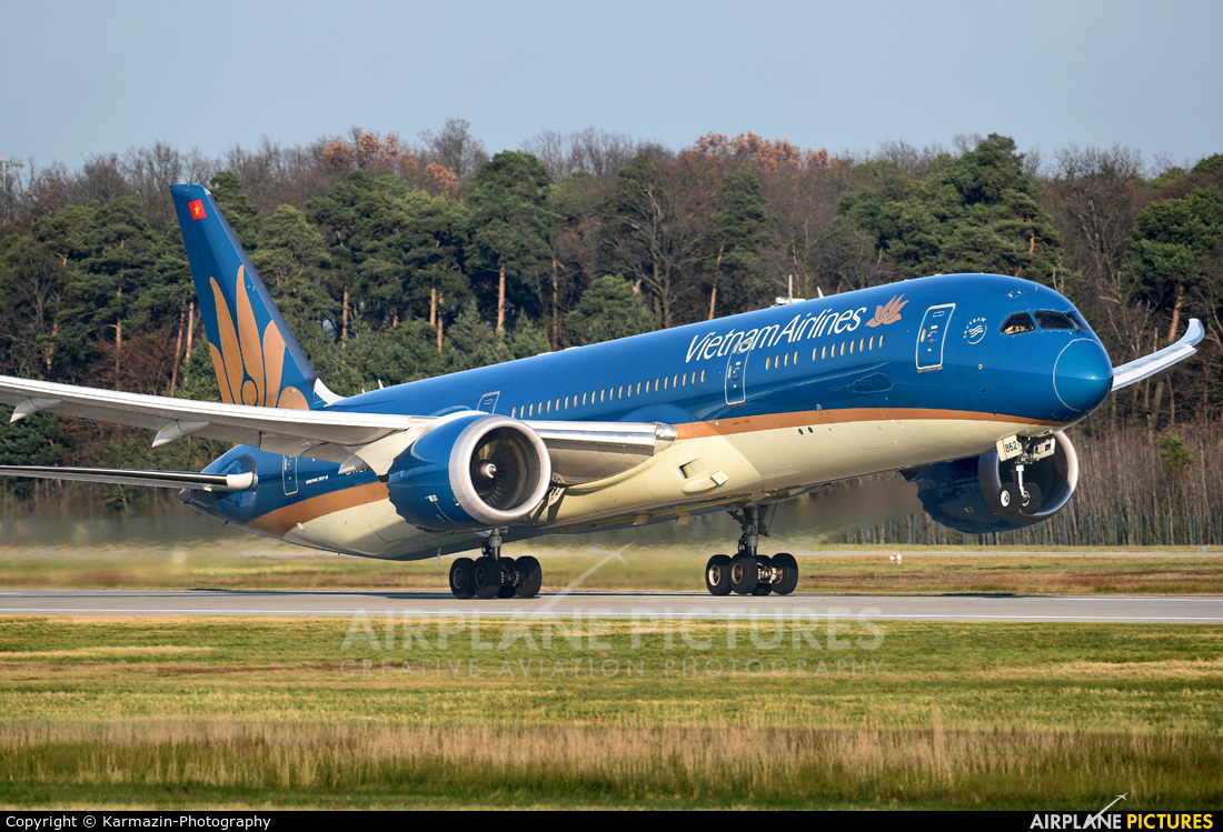 Vietnam Airlines VN-A862 aircraft at Frankfurt