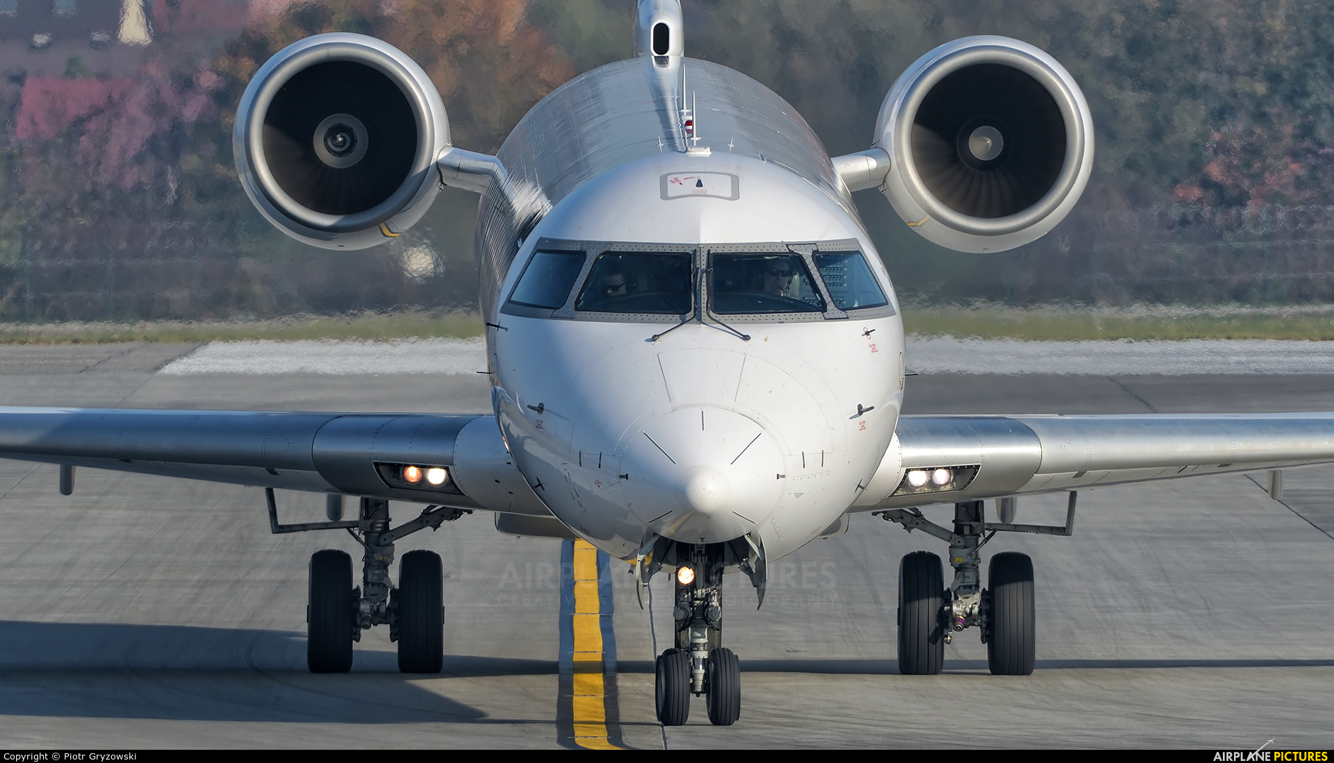 Lufthansa Regional - CityLine D-ACNC aircraft at Kraków - John Paul II Intl