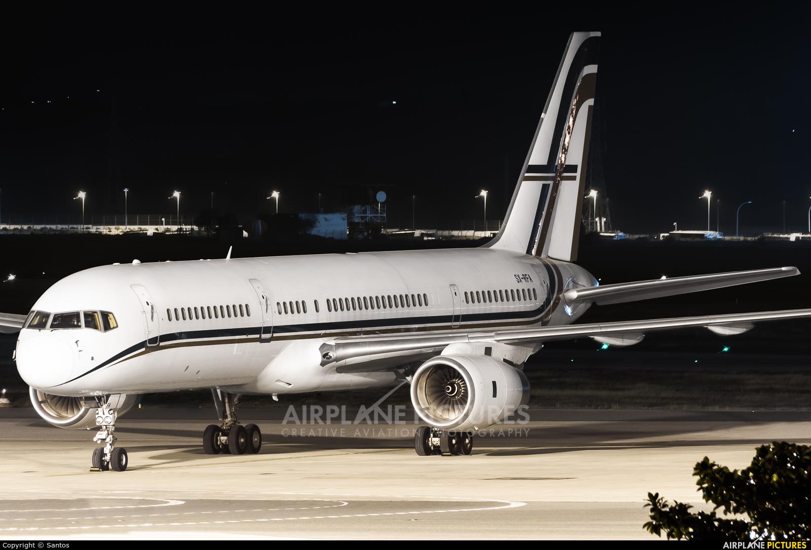 Gainjet SX-RFA aircraft at Seville - San Pablo