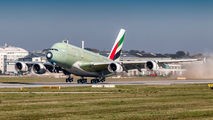 F-WWSY - Emirates Airlines Airbus A380 aircraft