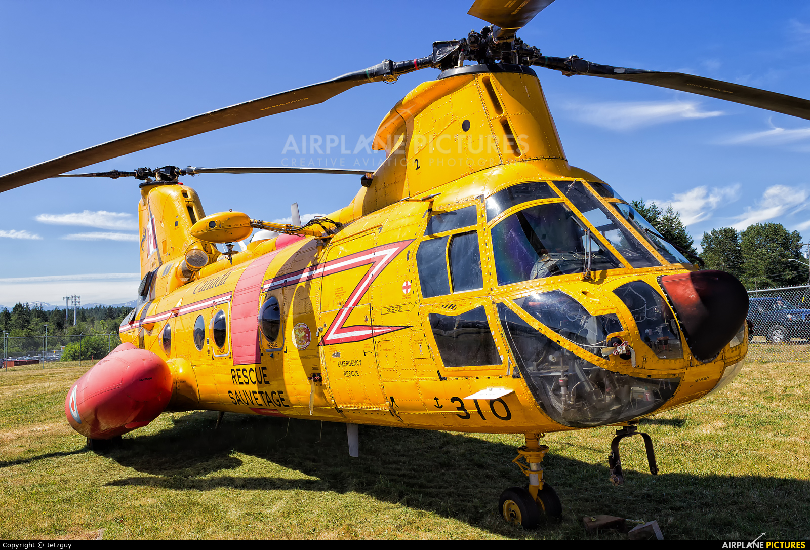 Canada - Air Force 11310 aircraft at Comox, BC
