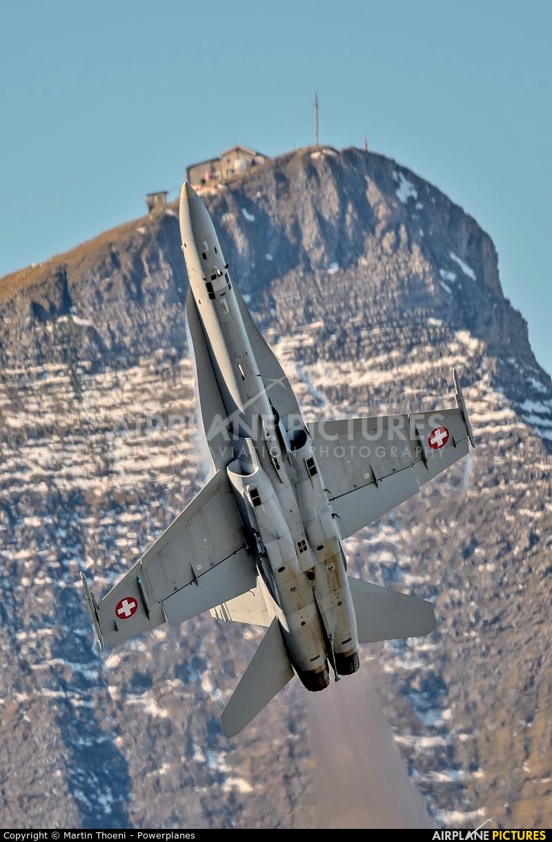 Switzerland - Air Force J-5020 aircraft at Axalp - Ebenfluh Range