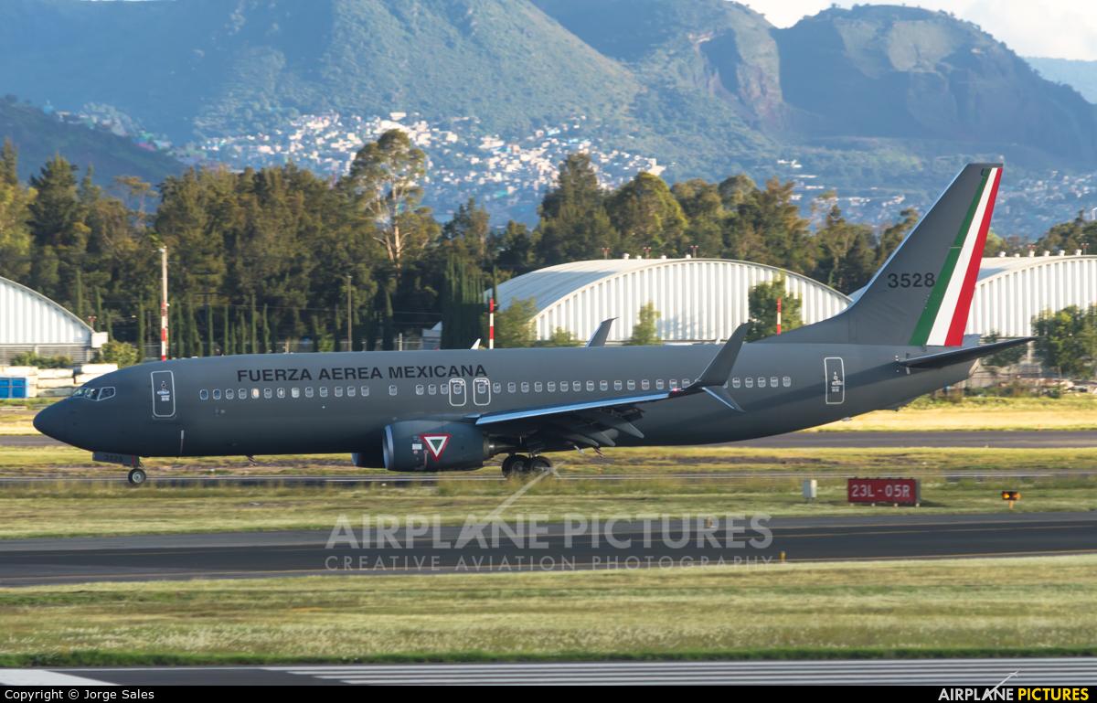 Mexico - Air Force 3528 aircraft at Mexico City - Licenciado Benito Juarez Intl