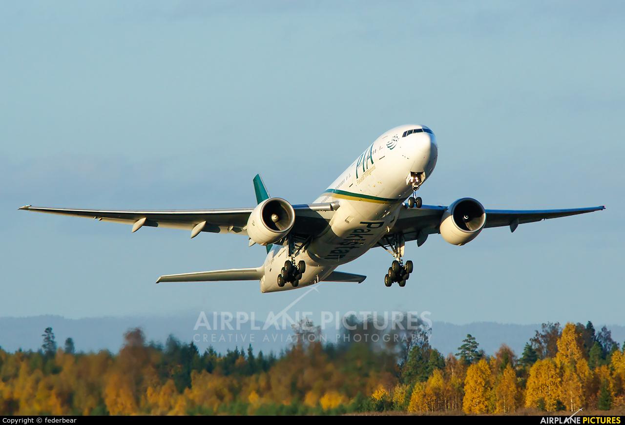 PIA - Pakistan International Airlines AP-BHX aircraft at Oslo - Gardermoen
