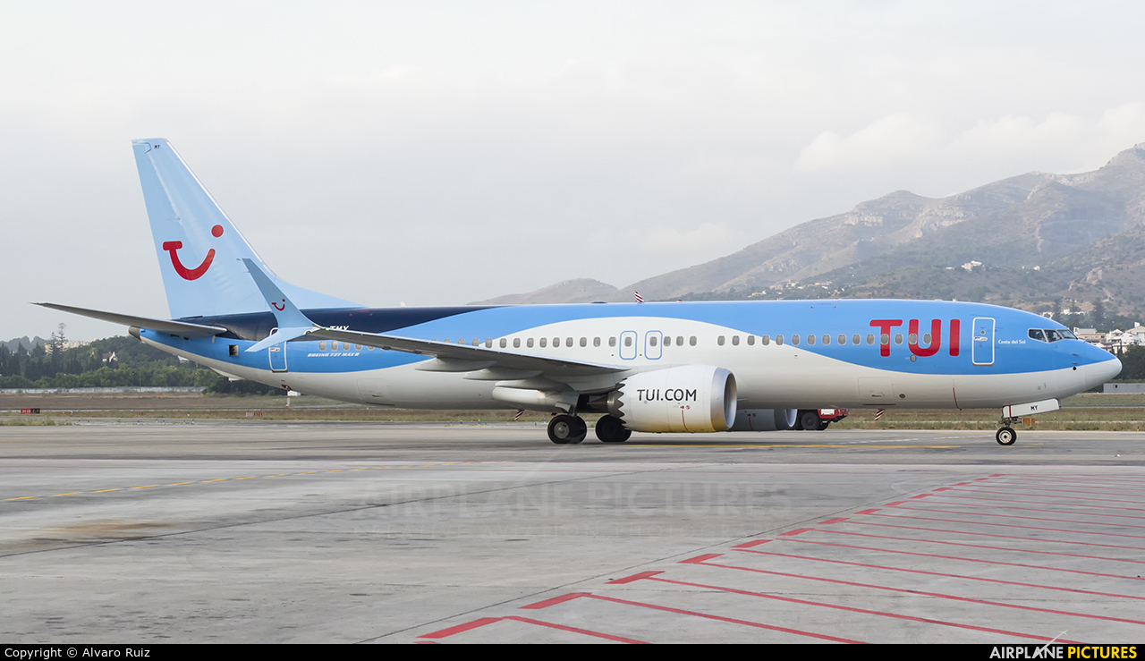 TUI Airlines Belgium OO-TMY aircraft at Málaga