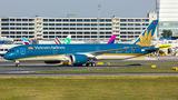 Rare visit of Vietnam Boeing 787-9 to Vienna