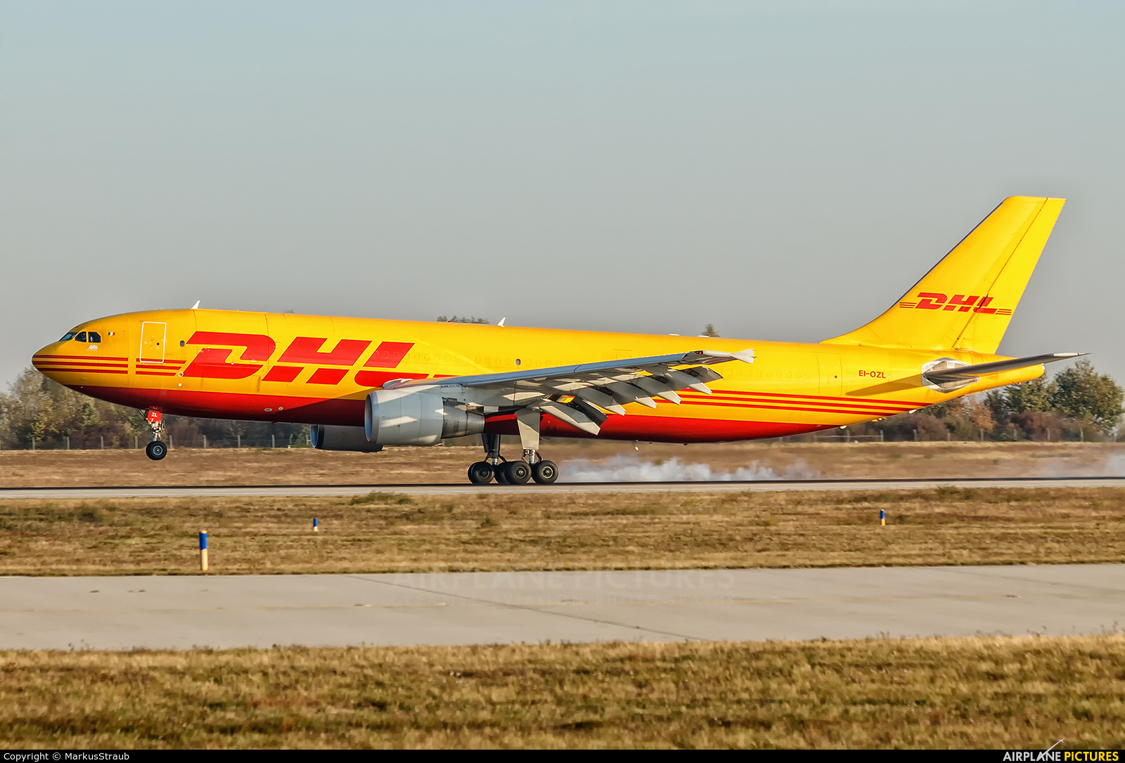 ASL Airlines EI-OZL aircraft at Leipzig - Halle