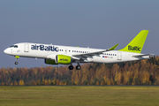 YL-CSL - Air Baltic Airbus A220-300 aircraft