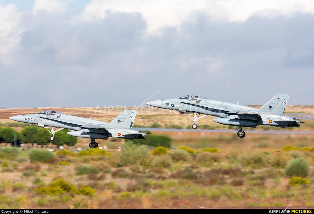 Spain - Air Force C.15-55 aircraft at Madrid - Torrejon